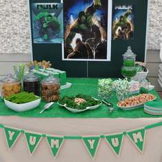 Shant's Incredible Hulk Birthday - Incredible Hulk