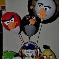 Andrew's 9th Angry Birdsday party! - Angry Birds
