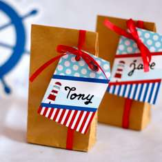 Nautical Birthday Party - Nautical