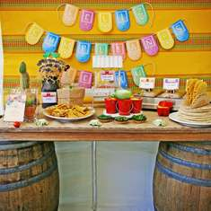 Mexican Fiesta Surprise Birthday Party - Mexican Fiesta
