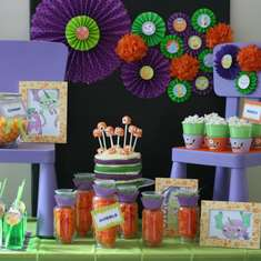 Monster Dessert Table/Inspiration Table - Monsters