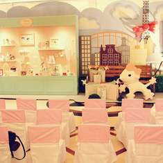 Richelle's 1st birthday - Hello Kitty in Paris