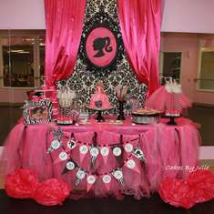 Chloe's 5th Birthday Party - Vintage Barbie