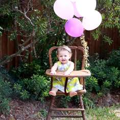 First Birthday Balloons - balloons