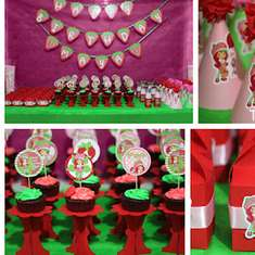 Strawberry Shortcake 4th Birthday Party - Strawberry Shortcake