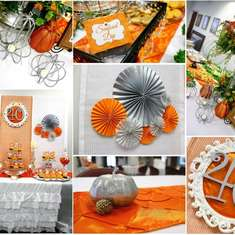 Orange and Silver Bank 40th Anniversary Party - Fall/Autumn