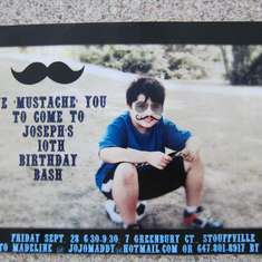 We MUSTACHE You To Party - mustache party