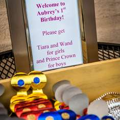 Aubrey's 1st Princess Party - Princess Birthday Party