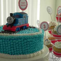Third Birthday Party! - Trains