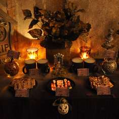 Haunted Cemetary Desserts  - Halloween