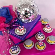 Dance Party - Disco Ball, Pink/Blue/Purple, My daughter