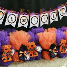 Tricks, Treats and Tutus - Halloween Birthday party