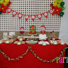 {Little Red Riding Hood Birthday Bash} - little Red Riding Hood