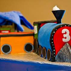 Chugga, Chugga, Choo! Choo!  Benjamin is 3! - Trains