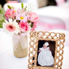 Avalynn's Pinkalicious Baptism - Pink and White