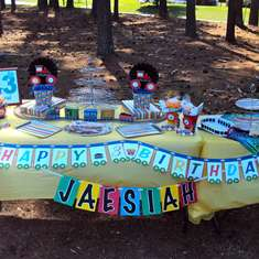 Jaesiah's Train Birthday Party - Trains