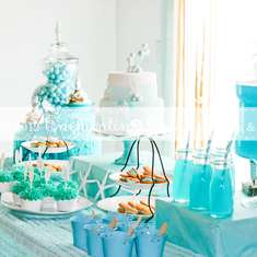 Sweet Mermaid Birthday Party - Mermaid
