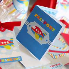 Airplane Printable Party Kit - Airplane