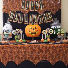 My Sweet Halloween - Halloween Tablescape for Kids