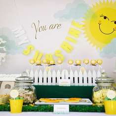 You Are My Sunshine 1st Birthday - You are my Sunshine