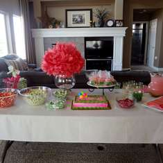 Ellie's 9th Birthday - Pink and Green Party!