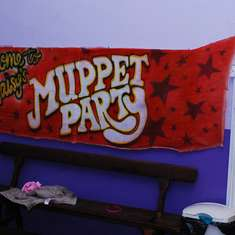 Maisy's Muppets Party - The Muppets!