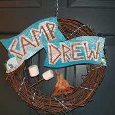 Camp Drew- Drew's 10th Birthday - camp out
