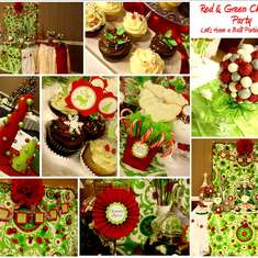 Lime Green and Red Christmas Party - Christmas Party