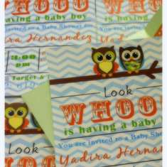 Yaya's Baby Shower - Owl Baby Shower
