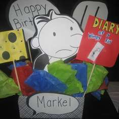Markel's 11th Birthday - Diary of a Wimpy Kid