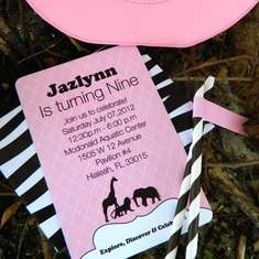 Pink Safari Party - Pink Safari Theme