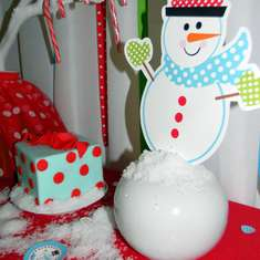 "Snowman""s Candy Table - Snowman"
