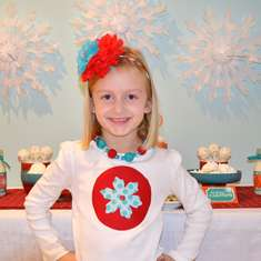 Little Snowflake Party - Winter Snow Theme