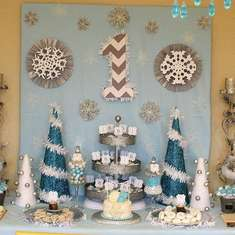 Winter ONEderland Birthday  - Winter wonderland owl