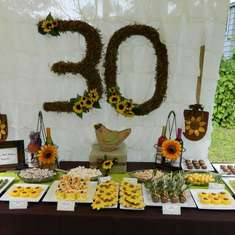 Surprise and Sunflower 30th Birthday Party!! - Sunflowers and Wine