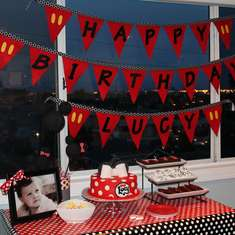 Lucy's Mickey Mouse and Minnie Mouse Birthday Party - Mickey & Minnie Mouse party