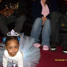 Kaniya's 1st Birthday!  - Princess & the Frog