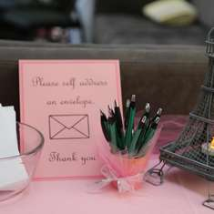 Baby Shower - French Pink