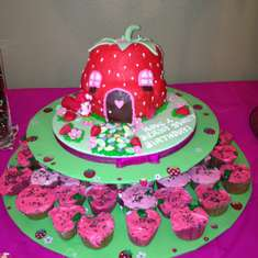 Sophia's Berry Sweet Birthday - Strawberry Shortcake