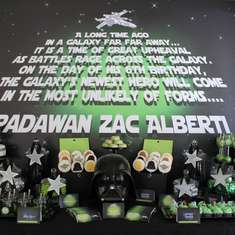 Padawan Zac - Star Wars