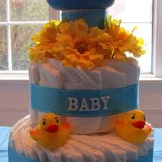 Jenny's Baby Shower - Rubber Ducky