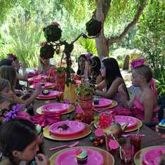 Isabella's 9th Birthday - Mad Hatter Tea Party