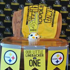 Our Little Linebacker is One! - Steelers/Football, Pittsburgh