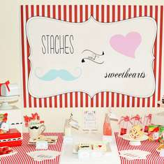 'Staches & Sweethearts Valentine's Day Party - None