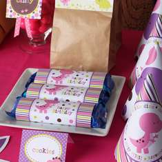 Girl Dinosaurs Printable Party Kit - Dinosaurs