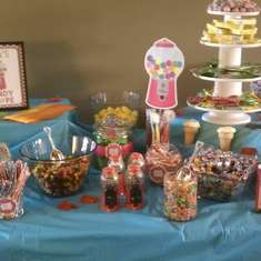 Ava's 5th Birthday - Candy Shoppe
