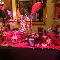 Princess Kut Launch Party - Hot Pink and Black