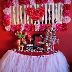 Special Valentine's Dessert Table - None