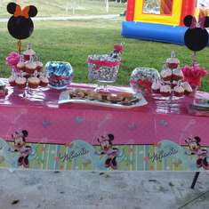 Valentina's 2nd Birthday - Minnie Mouse