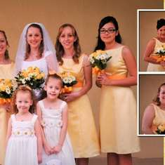Pru & Tan's Wedding - Yellow and White Daisies